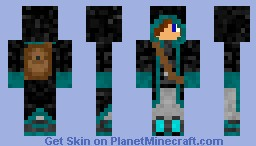 Cool Mage Minecraft Skin