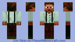 Steampunk Skin v01 Minecraft Skin
