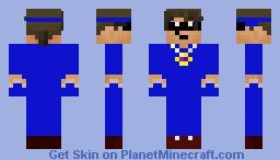 Blue Sky Minecraft Skin