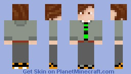 Cool guy in jacket (WORKS WITH ANIMATED PLAYERS) Minecraft Skin