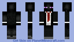 (Shaded) Enderman In A Suit!