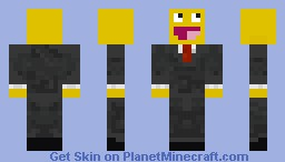 Mr. Awesome In A Suit Minecraft Skin
