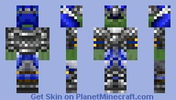 zombie knight (boss) Minecraft Skin
