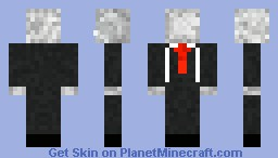 Slenderman... Minecraft Skin
