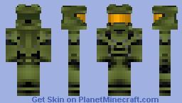 Master Chief (Halo 4) Minecraft Skin