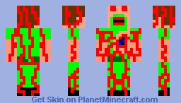 DR robot Heros vs villans contest Minecraft Skin