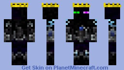 The enderking Minecraft Skin