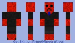 red creeper dude Minecraft Skin