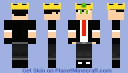 The King skin (My skin) Minecraft Skin