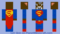 Super Cow ! Minecraft Skin