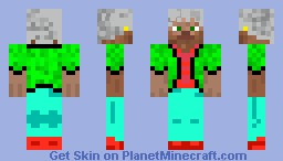 The Fantasy Fighters - The Fantasy Fighter (Jim) Minecraft Skin