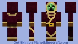 creeper mage Minecraft Skin