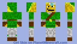 Link with Fairy Minecraft Skin