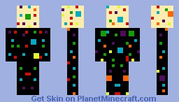 Polk-a-dot Dude Minecraft Skin