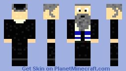 Old Jewish Rabbi Minecraft Skin