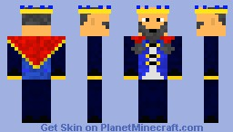 Old King- Take over the ancient world! Minecraft Skin