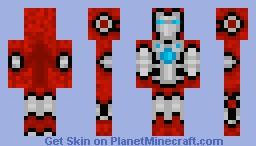 Iron Man mark V (Iron Man 2) Minecraft Skin