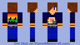 Nyan fan Minecraft Skin