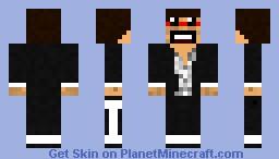 captain sparklez Minecraft Skin