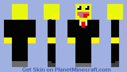 Epic Guy In A Business Suit Minecraft Skin