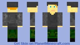 German Soldier (Wehrmacht) Minecraft Skin