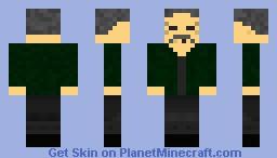 Old man :{. Minecraft Skin