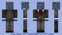 lapis lazuli in a suit Minecraft Skin