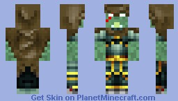 Warrior Snaker Minecraft Skin