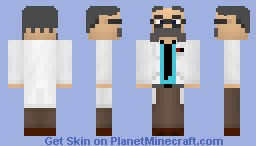 Mad Scientist Minecraft Skin