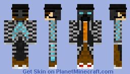Casual Cyberpunk Minecraft Skin