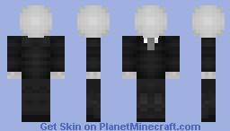SlenderMan | Creepy Pasta Series Minecraft Skin