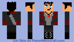 Dante (DMC) Minecraft Skin