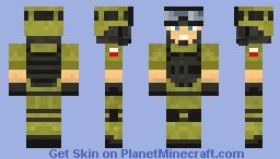 Bf3-Bf4 Hero :) by me Minecraft Skin