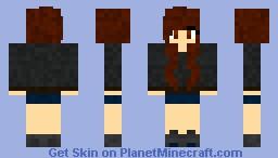 SelenaGomez <3 (Celeberity Skin Series!) Minecraft Skin