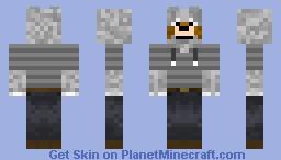 Hooded Wolf Minecraft Skin