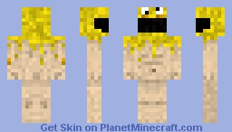 Battle Damage Nova - Yellow Minecraft Skin