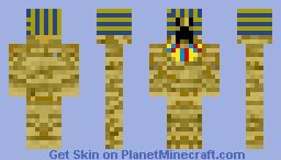 Egyptian Creeper! (60th Skin) Minecraft Skin
