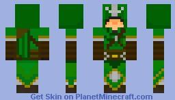 Link (from Legend of Zelda) as an Assassin Minecraft Skin
