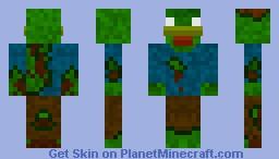 Zombie chicken Minecraft Skin