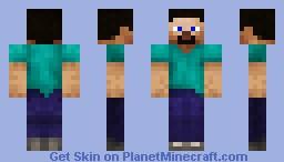 Updated Steve Minecraft Skin