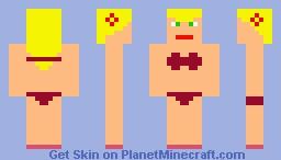 bikini Minecraft Skin