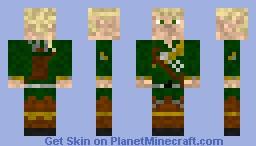 Elf Archer Minecraft Skin