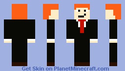 Conan O'Brien Minecraft Skin