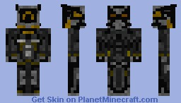 Enclave power armor (fallout  3) Minecraft