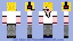 deadlox (Blonde) Minecraft Skin