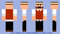 Just Plain Fancy Minecraft Skin