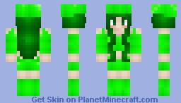 Sçience Çhick †Shwime girl† Minecraft Skin