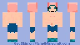 Gummo Rabbit Boy Minecraft Skin