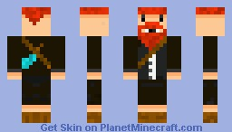 Simon ( Honeydew) In Tux ready for a fight Minecraft Skin