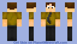 Dwight K Schrute (The Office) Minecraft Skin